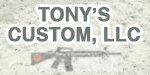 Tonys Custom AR-15 Uppers