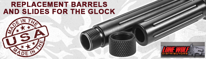 Lone Wolf Barrels for Glock