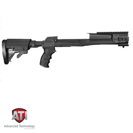 Mini 14 Strikeforce Stock With Recoil System Black Ati