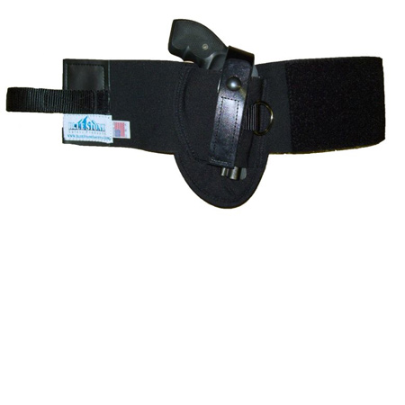 Ankle Holster with D Ring Ruger LCP &  380 Models - Blue Stone Safety