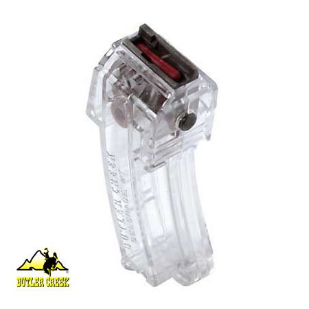 Ruger 10/22 Steel Lips Magazines - 10 Round Mag - Clear - Butler Creek
