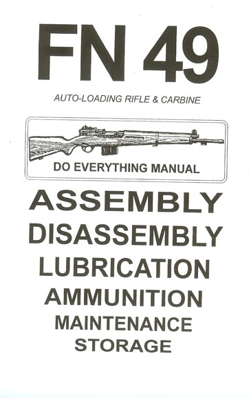 Fn 49 Assembly And Disassembly Manual