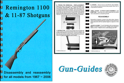 Remington 1100 & 1187 Disembly and Reembly Guide - Gun Guides ... on