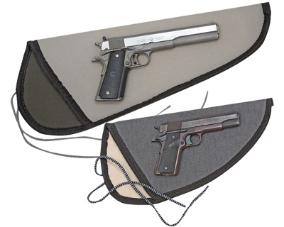 Pistol Sleeve With String Tie Down Small