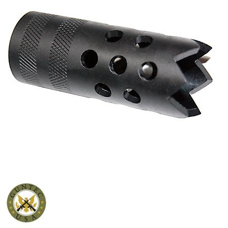 saiga 12 gauge shotgun muzzlebrake with door breacher