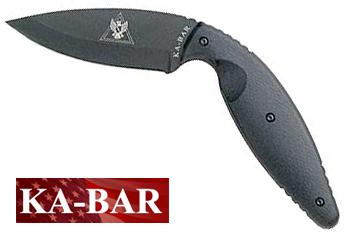 Large Kabar Tdi Law Enforcement Knife Straight Edge Ka Bar