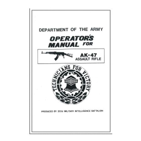 Ak 47 Operators Manual Military Manual Militaria Press