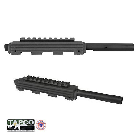 SKS Gas Tube with Handguard with Top Rail - Standard SKS Black - Tapco