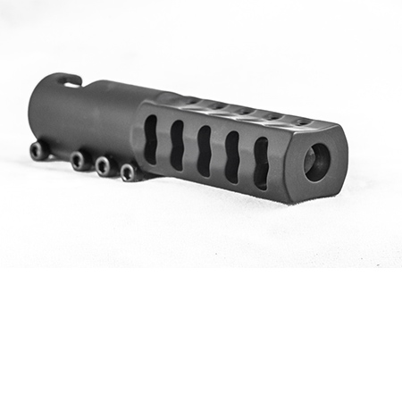 Mosin Nagant 91-30 Muzzle Brake - Black - Made in USA - Witt